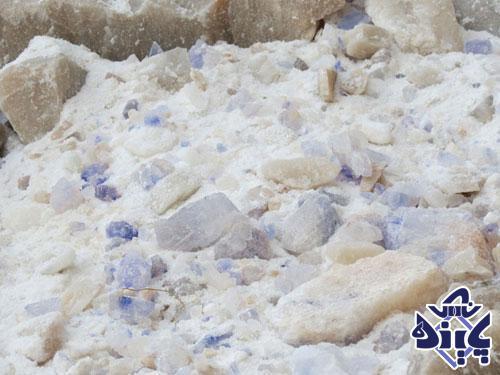 سنگ نمک آبی جدا نشده
