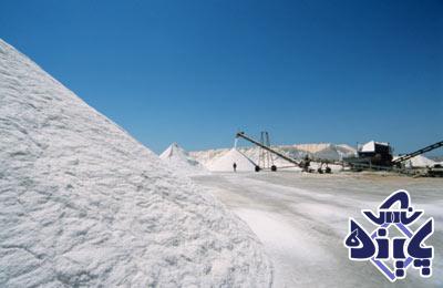 صادرات نمک به هند از ایران
