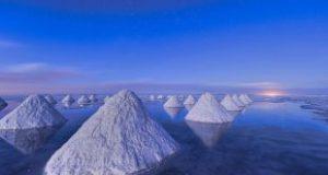 بزرگترین کارخانه تصفیه نمک در کشور